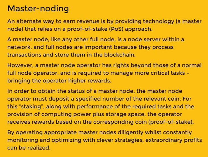 What Is Masternoding Proof Of Stake