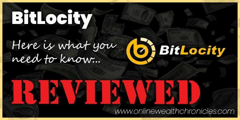 BitLocity Review Scam ROI Smart Contract Compensation Plan
