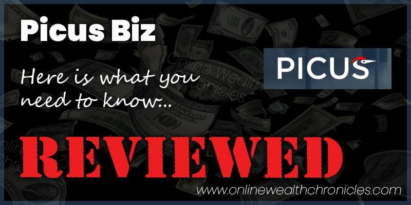 Picus Biz Review ROI Scam Compensation Plan