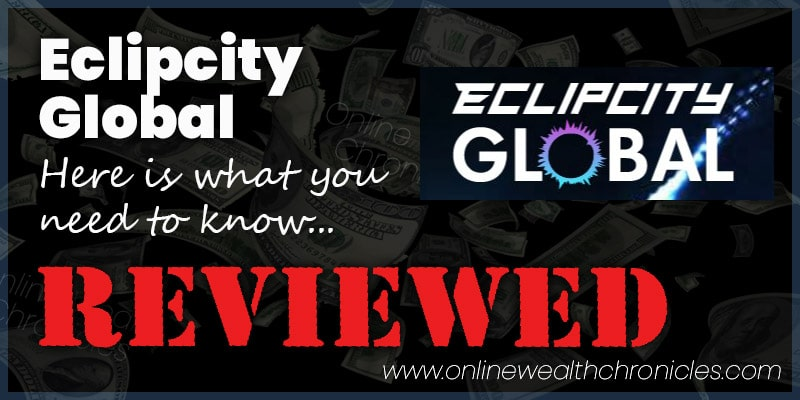 Eclipcity Global Review Scam ROI Smart Contract Compensation Plan