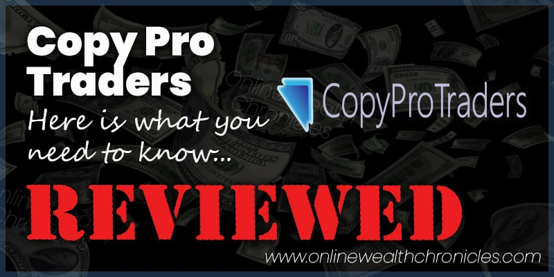 Copy Pro Traders Review Scam Trading Compensation Plan