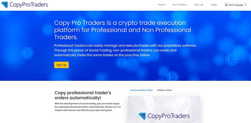 What Is Copy Pro Traders