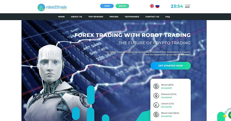 What Is Robot22 Trade
