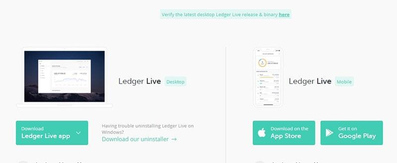 Ledger Live Download App