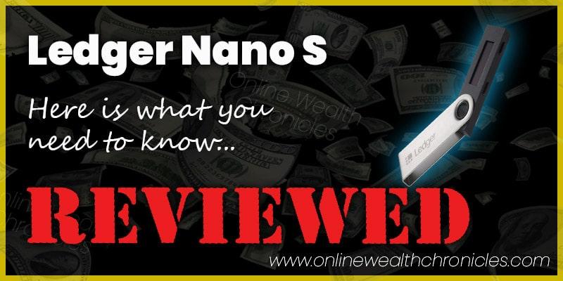 Ledger Nano S Review And Setup