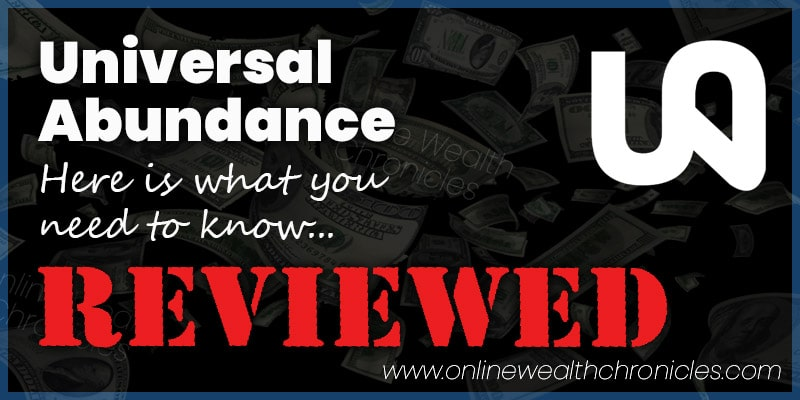 Universal Abundance Review Compensation Plan Scam