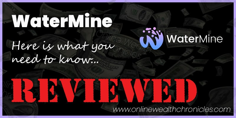 WaterMine Review Scam Investment Crypto