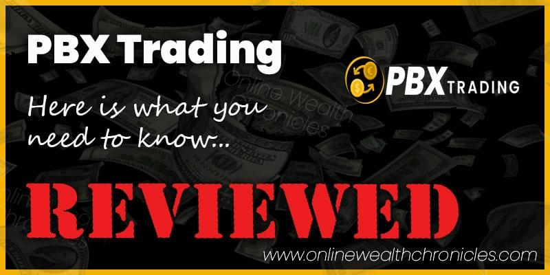 PBX Trading Review Scam ROI Compensation Plan