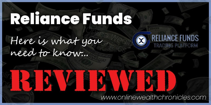 Reliance Funds Review Scam ROI Compensation Plan