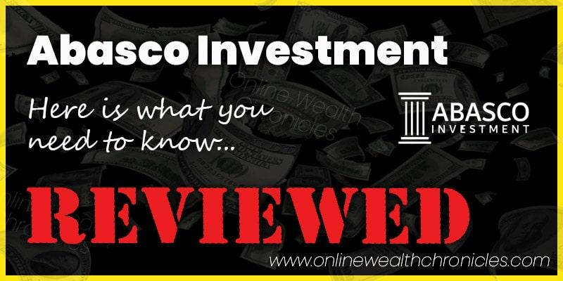 Abasco Investment ROI Scam Investment Packs