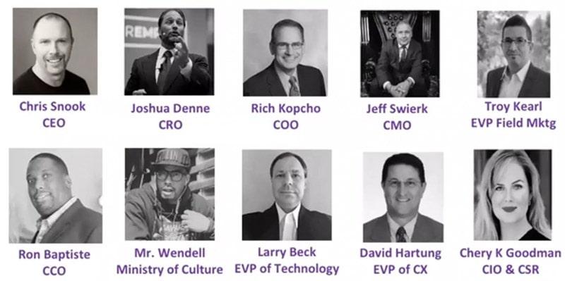 SDK Meta Management and Leadership Team