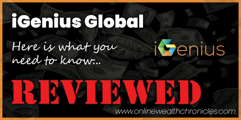 iGenius Global Review Scam ROI Compensation Plan