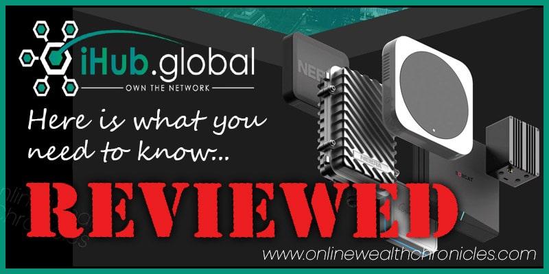 iHub Global Review Helium Free Mining Hotspot