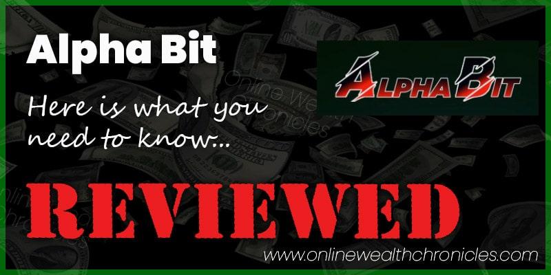 Alpha Bit Review Scam ROI Compensation Plan