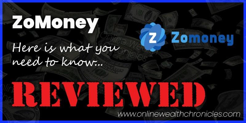 ZoMoney Review Scam ROI Compensation Plan